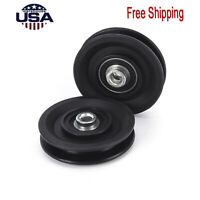 Pully Cable Machine Details about  /Home Gym Replacement Pulley w//Bearings Weider Marcy