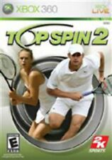 Top Spin 2 Xbox 360 Game USED
