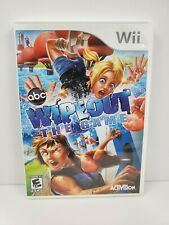 Wipeout: The Game (Nintendo Wii, 2010) Complete with Manual Tested and Works