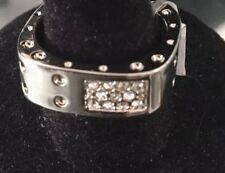 silver Designer inspired  Cubic Zirconia RING 8 Gift Get the look 4 less! band