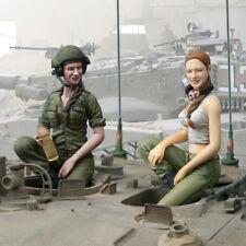 SOL RESIN FACTORY, MM227, 1:16, IDF Female tank crew 3