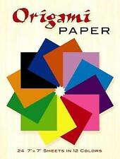 Origami Paper: 24 7 X 7 Sheets in 12 Colors by Dover Publications Inc -Paperback