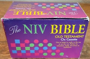 The NIV Bible Old Testament on (36) Cassettes World Audio Excellent Condition