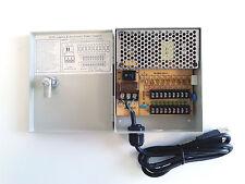 Smart Security Club 9ch DC 12V CCTV Mini Power Distributor Box Wall-Mount 5 Amp