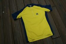 Bright Yellow Sugoi Adult Large Cycling Jersey