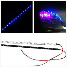 2 Pcs 30cm Blue LED Car SUV Exterior Driving Decoration Lights Strips For Toyota