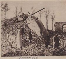 1916  --  LAMPERNISSE  APRES LA DESTRUCTION DU CLOCHER   3C469