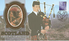 8 JUNE 1999 SCOTLAND E SIGNED BY MSP DAVID McLETCHIE BENHAM SILK FDC SHS