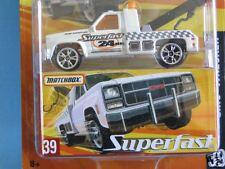 Matchbox Superfast USA GMC Wrecker Wreck truck with White Body