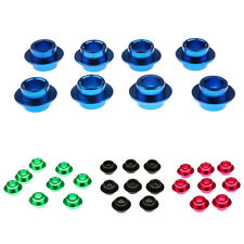 8pcs Skateboard Scooter Roller Inline Skate Wheels Bearing Spacer - 4 Colors