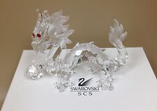 Swarovski Crystal Annual Figurine Dragon 1997 Fabulous Creatures
