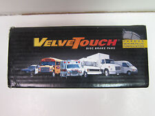 VelveTouch Brake Pads WPD1027T Front Axle Pair Class 2-6 Commercial Truck