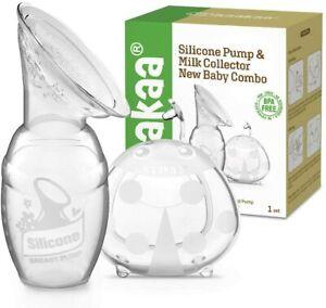 Haakaa Manual Breast Pump Ladybug Breast Milk Collector Combo Collecting Baby