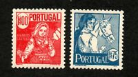 Portugal - Sc# 612 & 613 MH     -     Lot 1120257