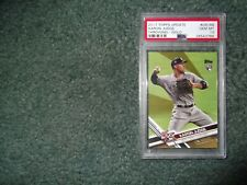 17 TOPPS UPDATE BASEBALL AARON JUDGE RC SP VARIATION-THROWING,GOLD /2017 PSA 10!