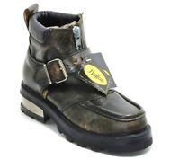 53 Chaussures pour Hommes en Cuir Plateforme 90er Boucle Gothique Vintage Look