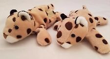 Walt Disney World Animal Kingdom Cheetah Leopard Plush Souvenir Roars Growls