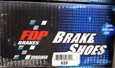 BRAND NEW 629 FDP REAR DRUM BRAKE SHOE SET FITS CHRYSLER DODGE PLYMOUTH 1990