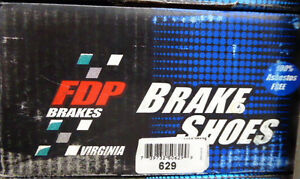 BRAND NEW FDP 629 REAR BRAKE SHOES FITS *SEE CHART*