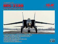 ICM 1/48 MiG-25RB Soviet Reconnaissance avion # 48902