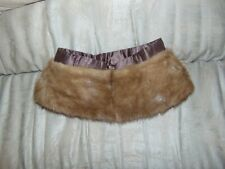 Vintage Fake Faux Fur collar Off Coat Crafts Bears Dolls Sewing-Animal Cloths