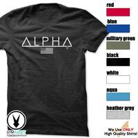 ALPHA Gym Rabbit T Shirt 7 colors Workout Bodybuilding Fitness Lifting D135