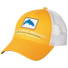 8c8c0e4dd6cf2 Simms Fishing Products Trout Trucker Patch Hat Cap - Straw Color - NEW!