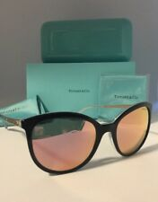 TIFFANY & CO. AUTHENTIC WOMEN'S MIRRORED SUNGLASSES(4117-B 8193/4Z)54/19/140mm