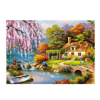 1000 Piece Jigsaw Puzzle for Adults Kids Gift - Educational Toy -Village