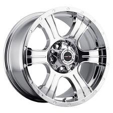 "20"" Vision 396 Assassin Chrome Wheel 20x9 8x6.5 -12mm Chevy GMC Dodge Rim"