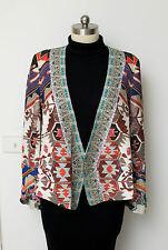 Camilla Franks Kilim Odyssey JACKET W/ TIE BACK Size 1