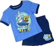Baby Boy Toddler 2PC Clothing Set SpongeBob SquarePants Print Shirt