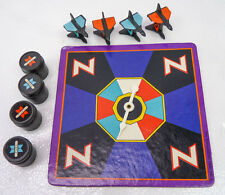 Vintage ZAXXON Board Game Replacement Pieces Parts Plane Tokens Barrels Spinner