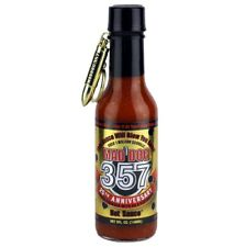 Mad Dog 357 Gold, 25th Anniversary Hot Sauce with Plutonium