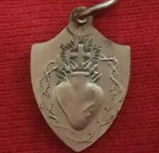 Sterling Silver Filled SACRED HEART of JESUS Infant Prague Medal Charm Pendant