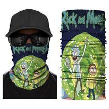 Seamless Face Bandanas Multifunctional Headwear Mask Neck Gaiter, Rick and Morty