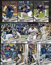 2017 Topps Series 1 & 2 & Update MILWAUKEE BREWERS Complete 30 Card Team Set