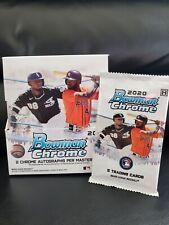 NEW!! 2020 BOWMAN CHROME MLB Hobby Box Sealed Pack! Luis Robert Auto?? 🔥🔥🔥