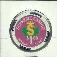 $1 SUPREME CHIP- CANADA