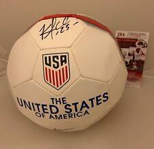 Kellyn Acosta signed Team USA Soccer Ball autographed Proof JSA