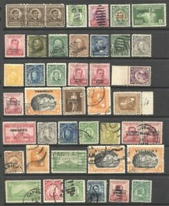 PHILIPPINES Stamps lot of 40