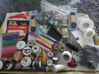 Lot+of+Sewing+Notions+and+Supplies%2CThreads%2C+Shoelaces%2C+Needles+Supplies%7EVintage