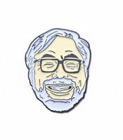 Japanese animator Miyazaki Hayao Carton Badge Brooch Men Women Accessories Pin