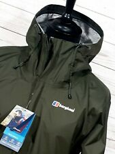 mens Berghaus Hydroshell Deluge vented jacket advanced waterproof hooded Size XL