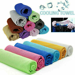 US Sports Cooling Towel Fitness Dry for Gym Workout Face Iced Sweat Absorption