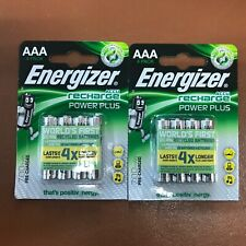 NEW Energizer AAA Rechargeable Batteries, Power Plus, PreCharged NiMH 700mAh