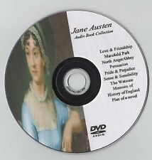 Jane Austen 13 Audio Book Collection on MP3 DVD 110hrs Abbey Pride Sense Emma