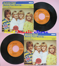 LP 45 7'' BUCKS FIZZ Making your mind up Don't stop 1981 germany RCA cd mc dvd