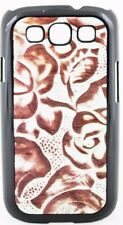 3D Angel Ranch Shell Case Turquoise & Brown Samsung Galaxy S3 Snap-on PH765 New