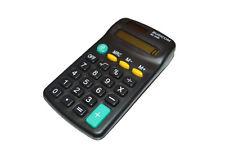 Busicom 8 digit Dual Power Mini Pocket Calculator Study School College u Office